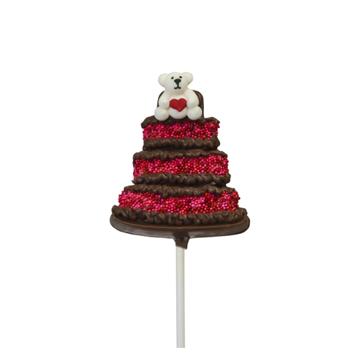 Anniversary Cake Pop (teddy)